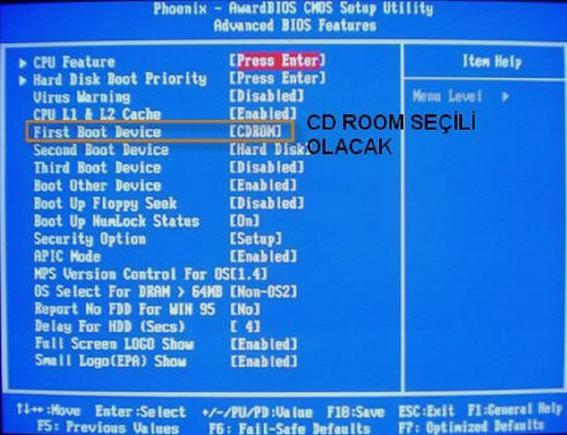 Windows 7 format atma | formatatma. Net.